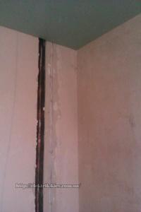 Как выглядит переход с потолка на стену